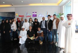 Students of College of Communication in AAU visits AD Radio