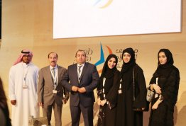 The visit of media students to the Arab Media Forum