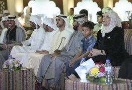 Participating in Sheikh Zayed Heritage Festival